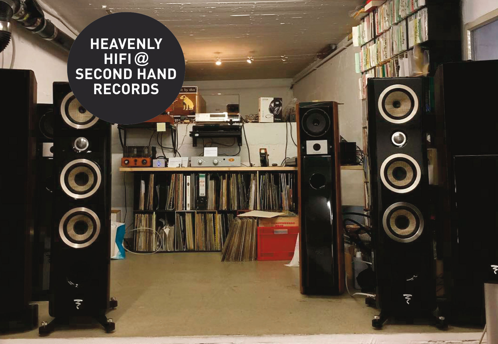 SECOND HAND RECORDS Heavenly-Hifi
